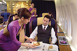 Thai Airways is seeking a younger image