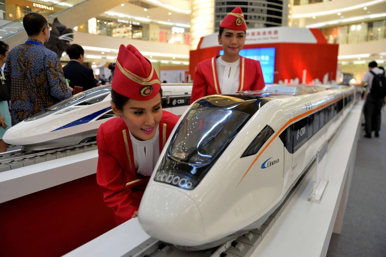 Japan Says China Wins Indonesia Rail Contract